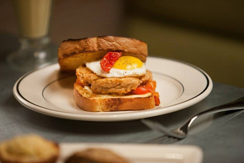 Johnny's serves up rich and satisfying breakfast grub