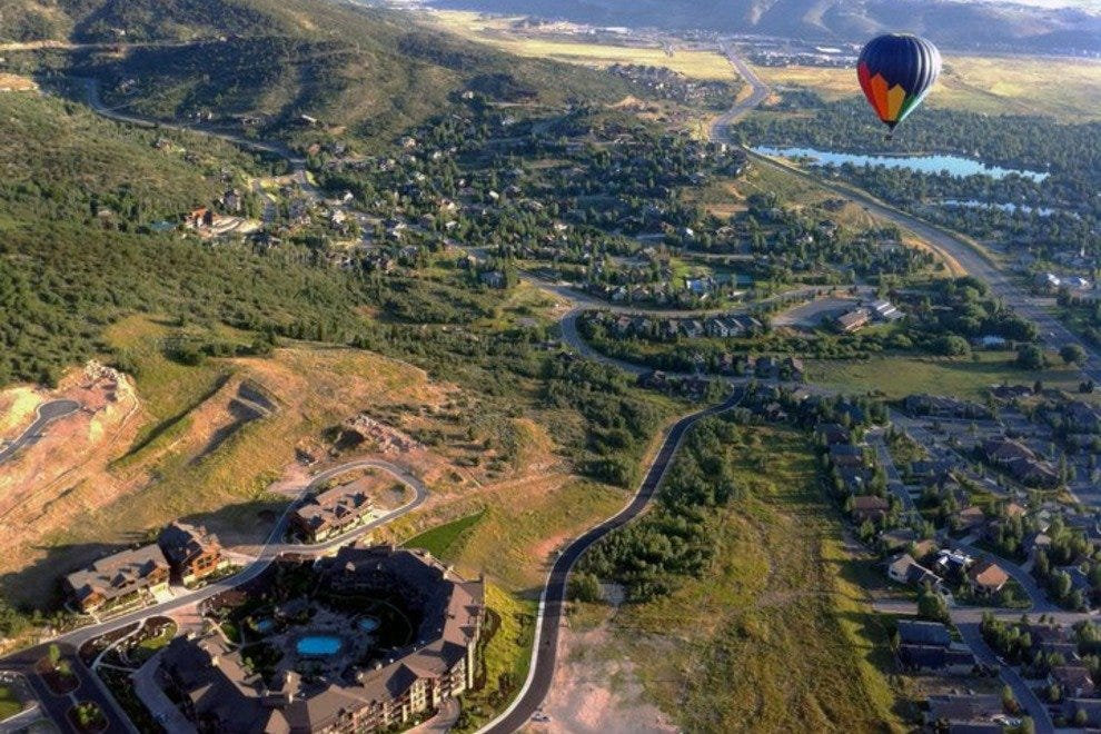 Incredible views of Park City from above