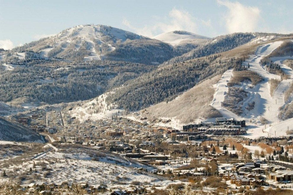 Park City, mountain town extroardinaire