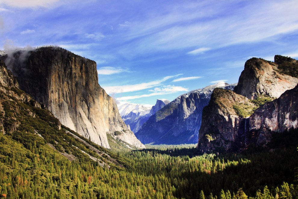 Yosemite Valley, Awe-Inspiring Any Time of the Year
