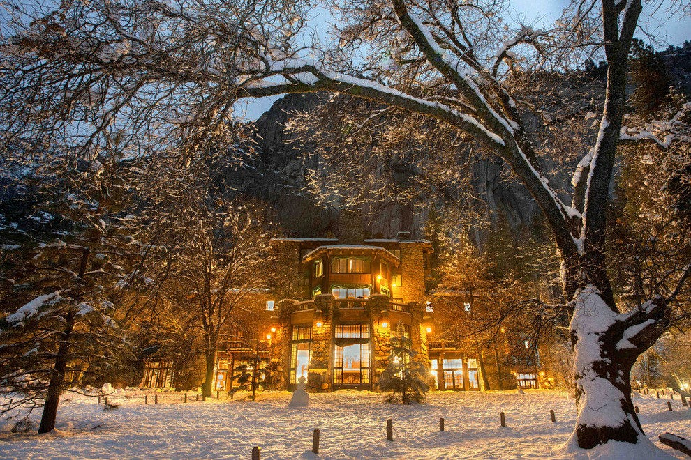 The Ahwahnee, a National Historic Landmark and AAA Four-Diamond Hotel