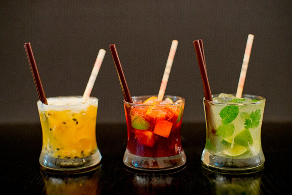 Asian-inspired cocktails