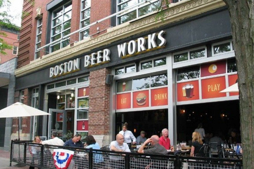 Boston beer works boston restaurants review 10best experts and tourist reviews for Restaurants near td garden boston ma