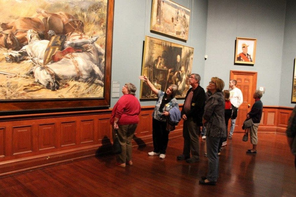 The Telfair Academy features an impressive collection of 19th- and 20th-century American and European Art