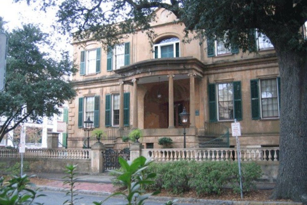 The Owens-Thomas House is considered one of the finest examples of English Regency architecture in the U.S.