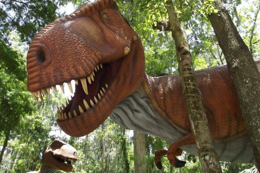 Dinosaur world tampa attractions review 10best experts for Things to do in central park today