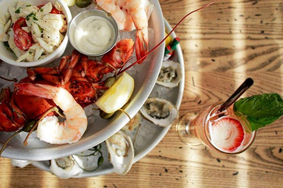 Dive into towers of delicious shellfish at Copperfish