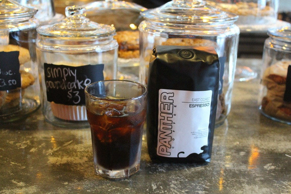 Panther Coffee's cold brew, made with East Coast espresso