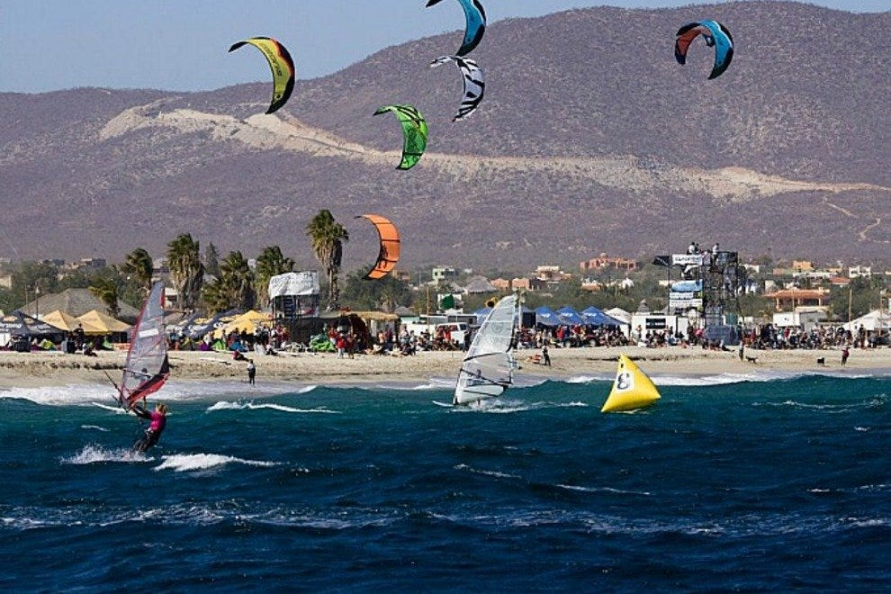 The world's fastest wind and water riders will compete for Baja's most exalted title: Lord of the Wind