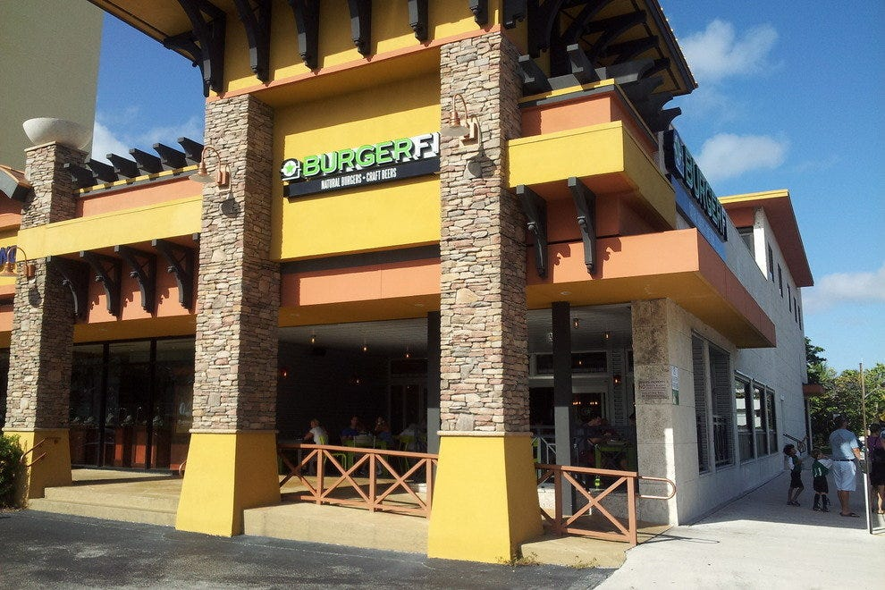 One of several Burgerfi locations