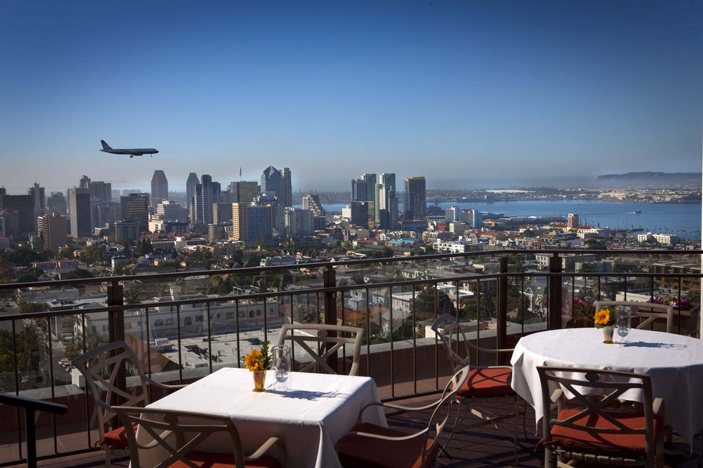 Romantic Dining In San Diego Restaurant Bertrand At Mr As on San Francisco Penthouse