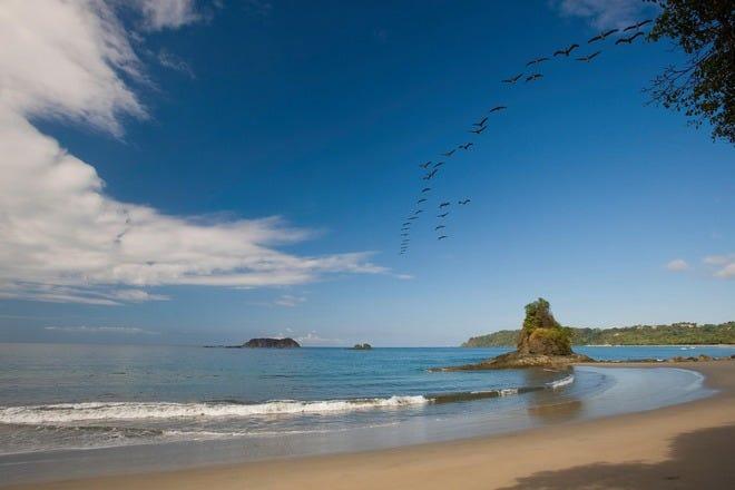 哥斯达黎加的海滩酒店