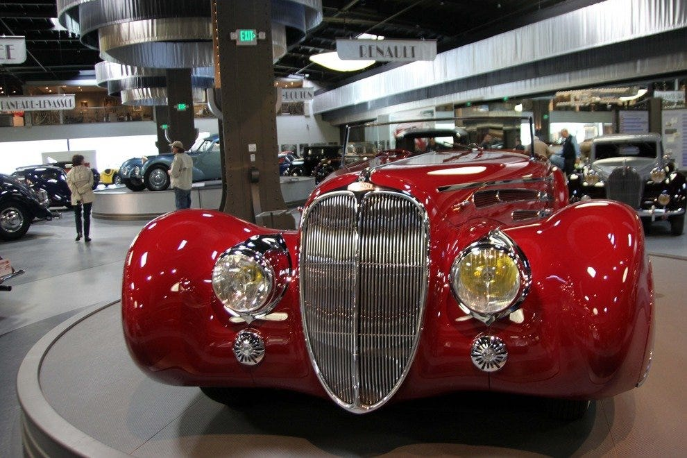 The Mullin Automotive Museum