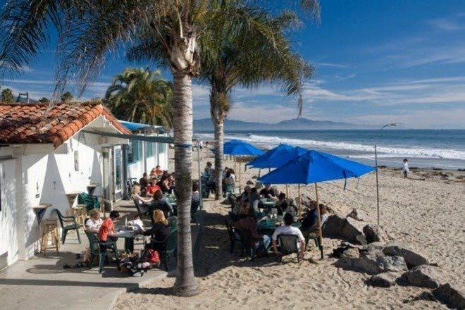 Beach Bars in Santa Barbara