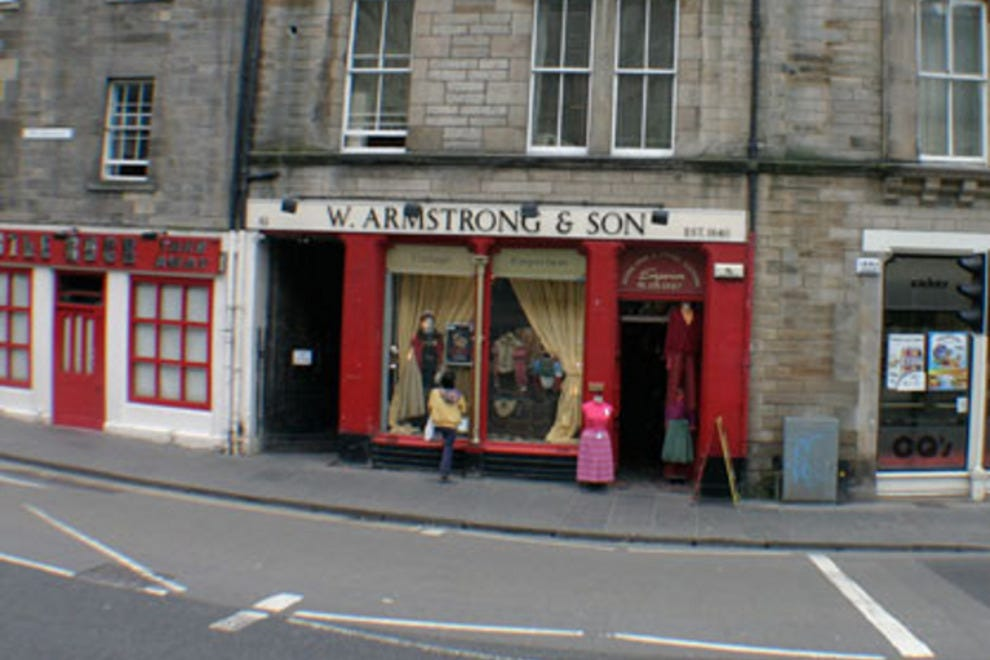 shop at w armstrong for vintage clothing in