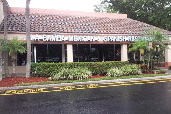La Bamba Mexican Spanish Restaurant Fort Lauderdale