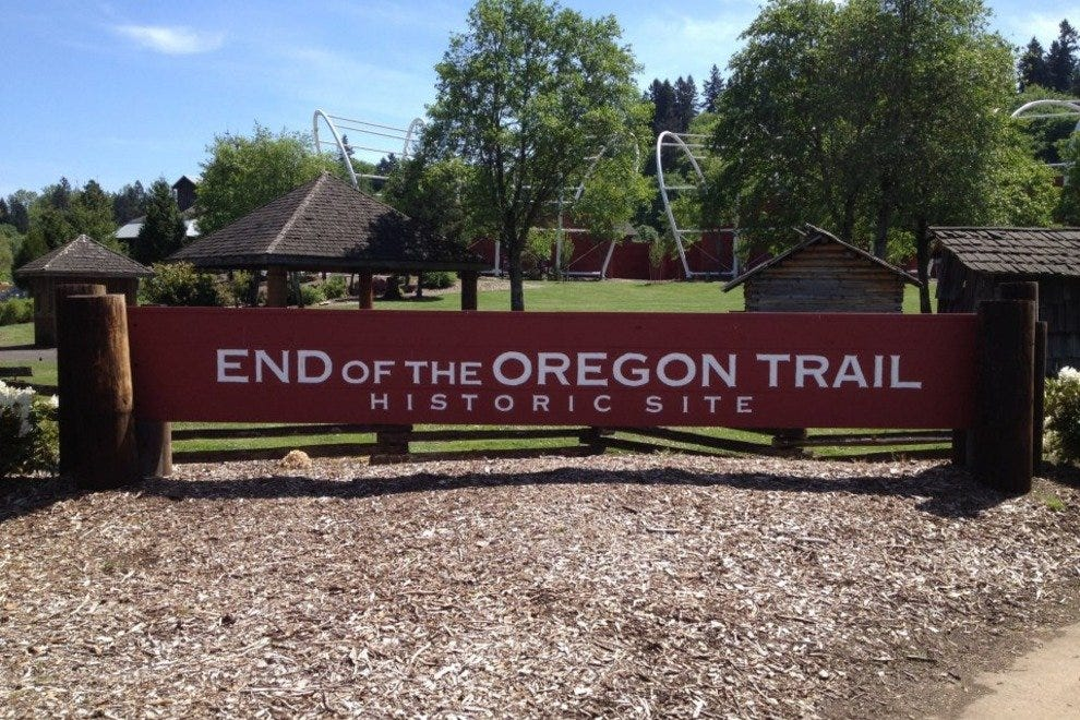 The Interpretive Center at the End of the Oregon Trail