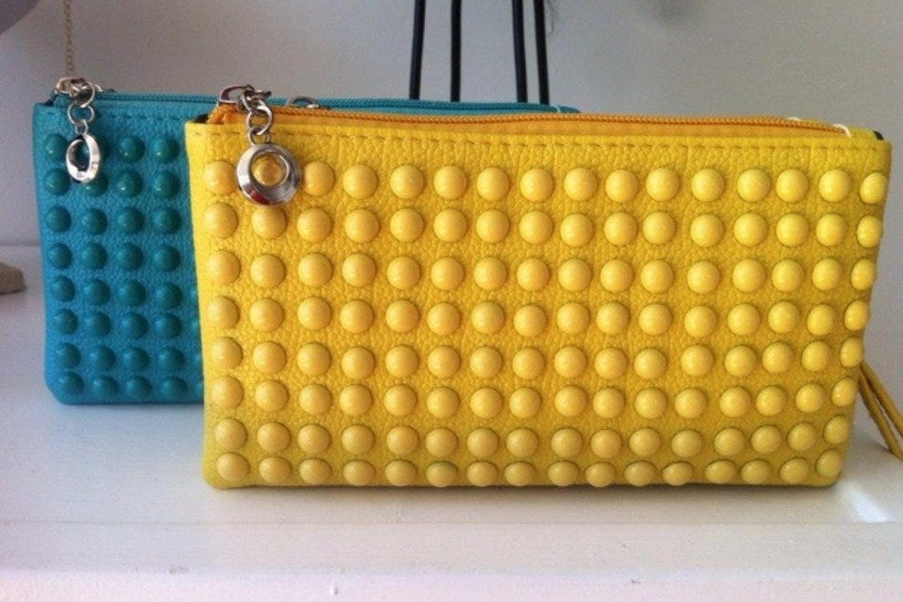 Colorful clutches at Bella Gypsy