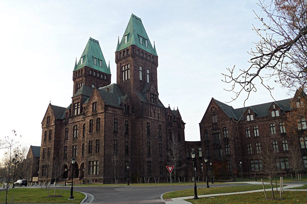 A portion of the Richardson Olmsted Complex