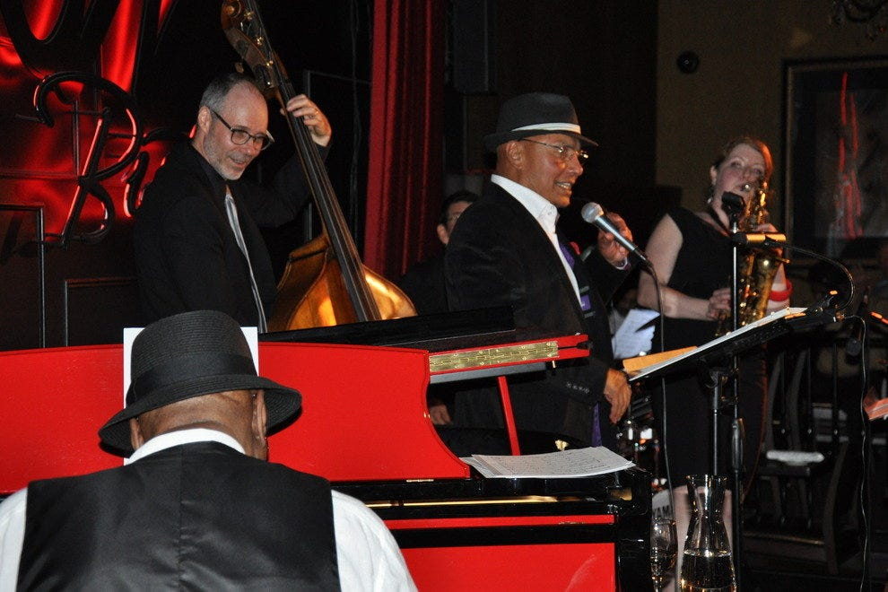 What would Jazz Bistro be without a little jazz?