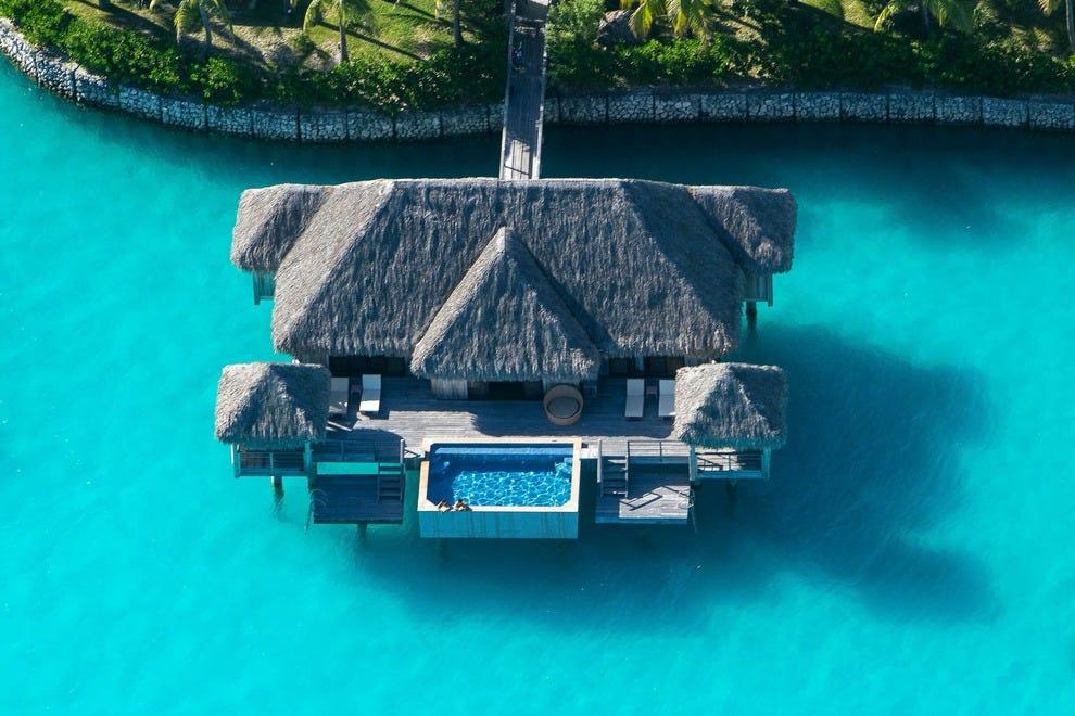 St Regis Bora Bora A Bucket List Getaway Hotels Photo Gallery By 10best Com