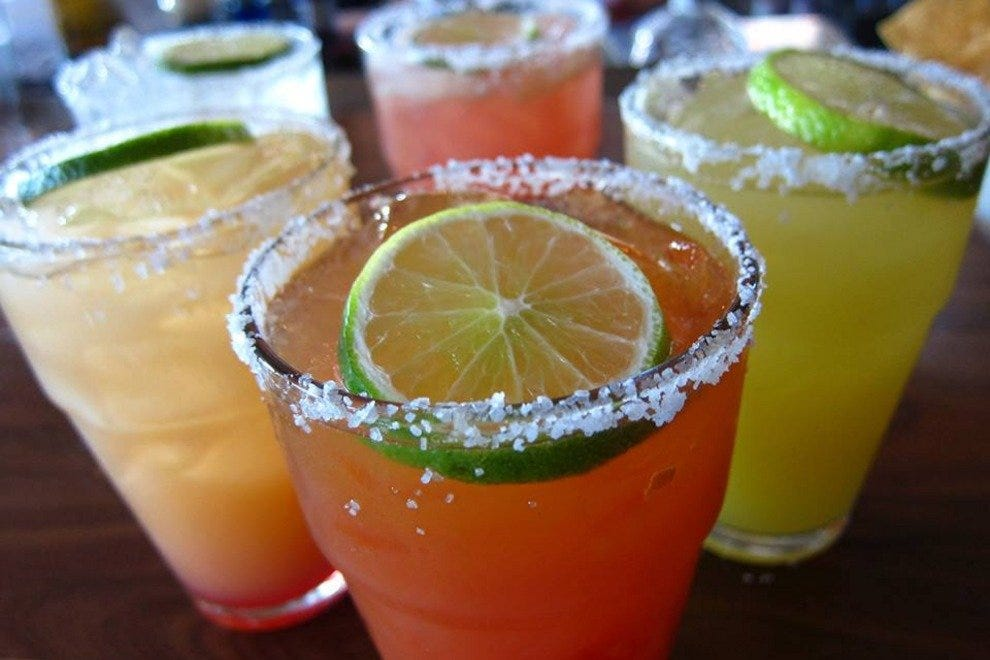Fresh, fruit-infused tequilas are a specialty at Blanco Tacos + Tequila