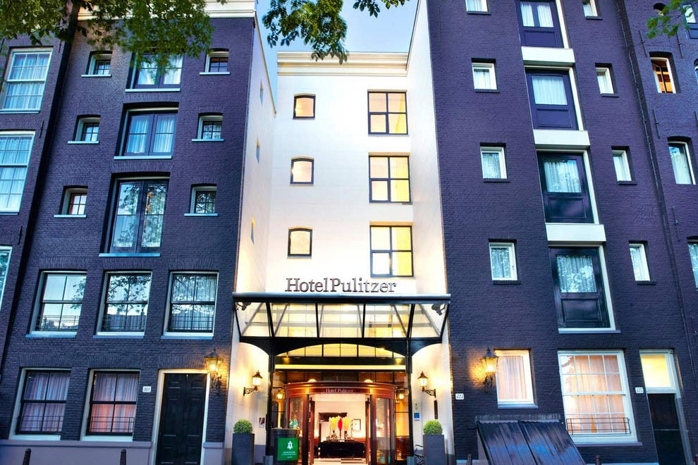 Amsterdam downtown hotels in amsterdam downtown hotel for Pulitzer hotel in amsterdam