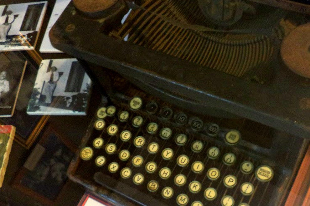One of the typewriters used by Tennessee Williams