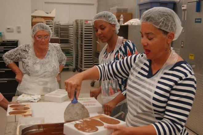 Chocolate Classes at Norman Love Chocolate Salon