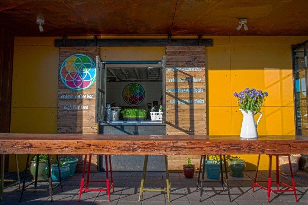 Kaleidoscope Juice, a popular Scottsdale juice bar, just opened a new bike-friendly location in Old Town