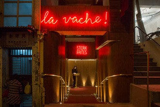 Steak and Frites Hit Hong Kong at La Vache! Restaurant
