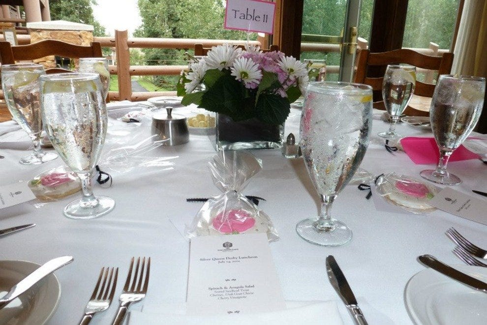 The Glitretind Restaurant at Stein Eriksen Lodge