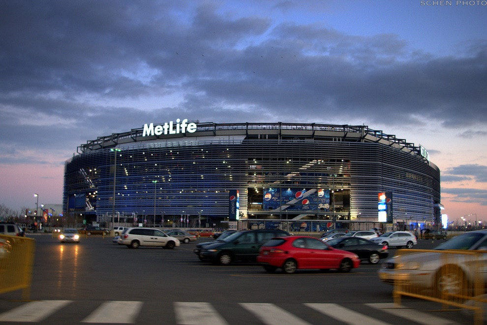 MetLife Stadium, host of Super Bowl XLVIII