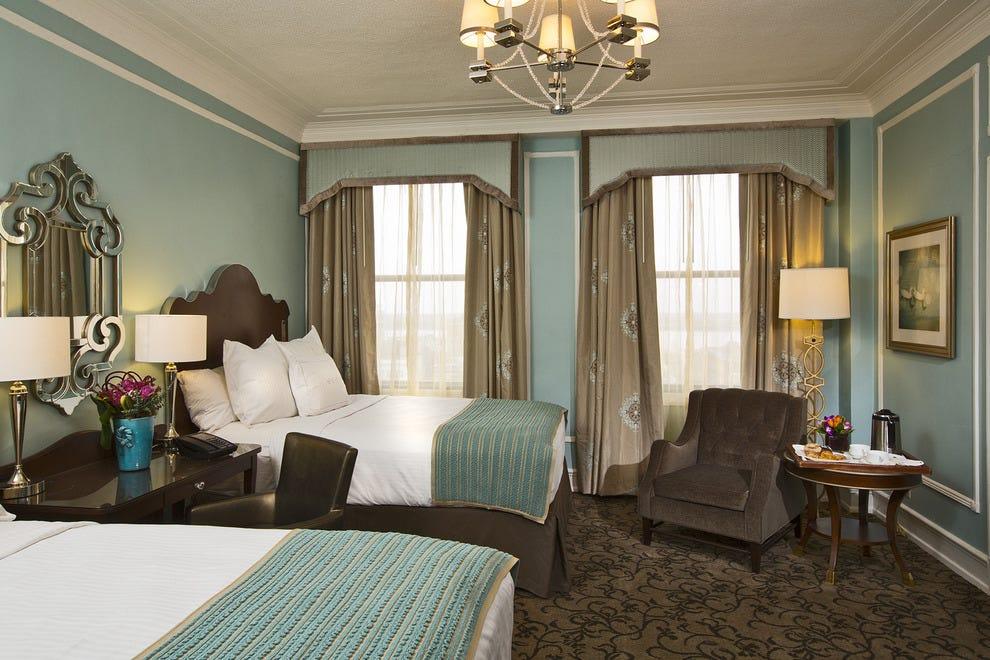 Historic Luxury Hotel The Peabody Memphis Renovates Rooms