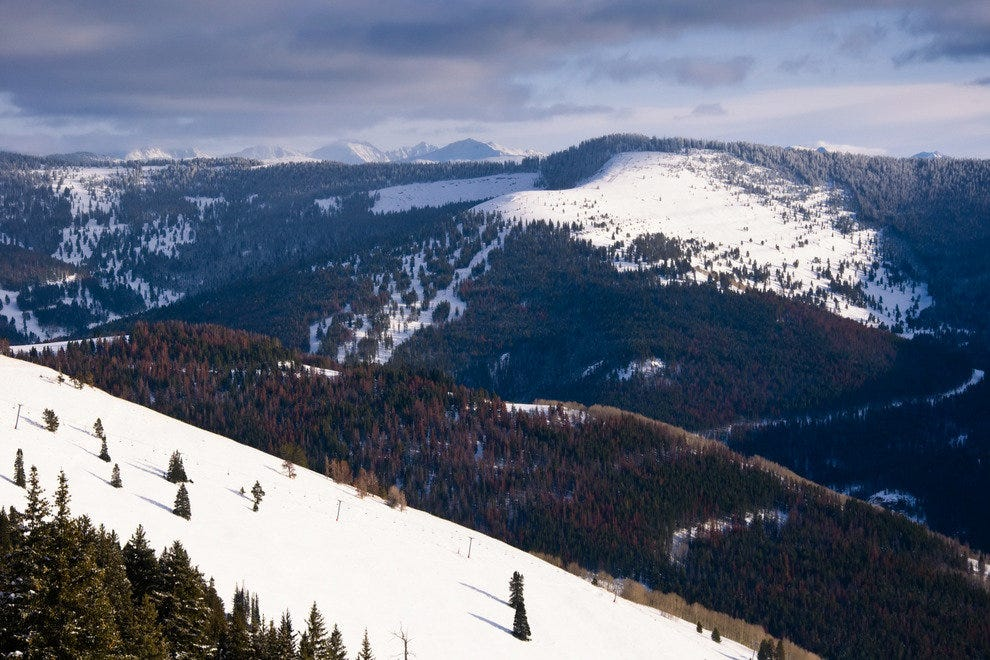 The mountain at Vail