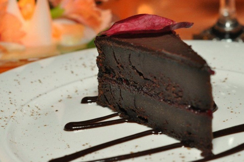 丛林爱情咖啡厅巧克力蛋糕