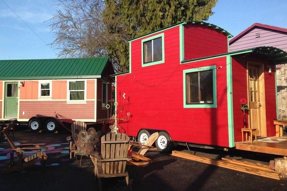 Caravan The Tiny House Hotel in Portlands Alberta Arts District