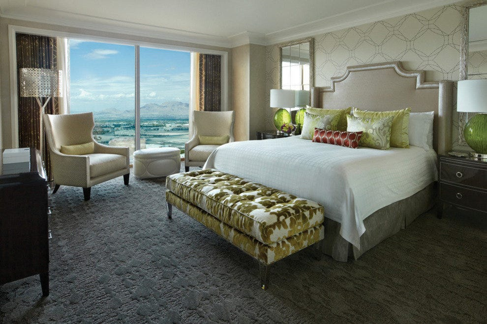 The Four Seasons Hotel Las Vegas renovated its guests rooms in December 2012