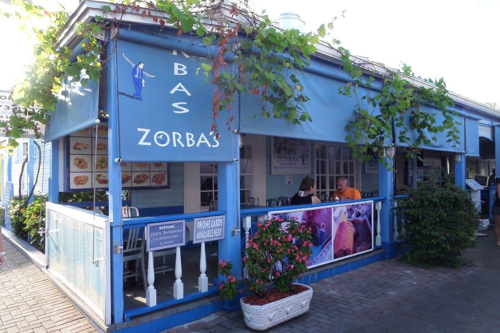 Zorba 39 S Greek Cuisine Grand Bahama Island Restaurants