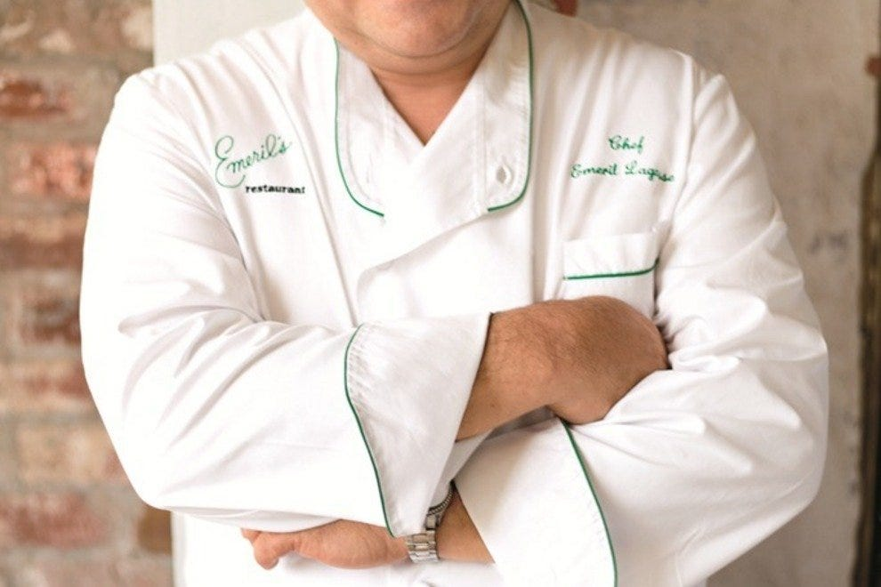Emeril Lagasse sees an overlap between Cajun and Creole cuisines