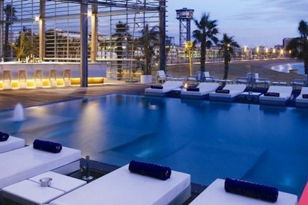 Barcelona spas 10best attractions reviews for W hotel barcelona spa