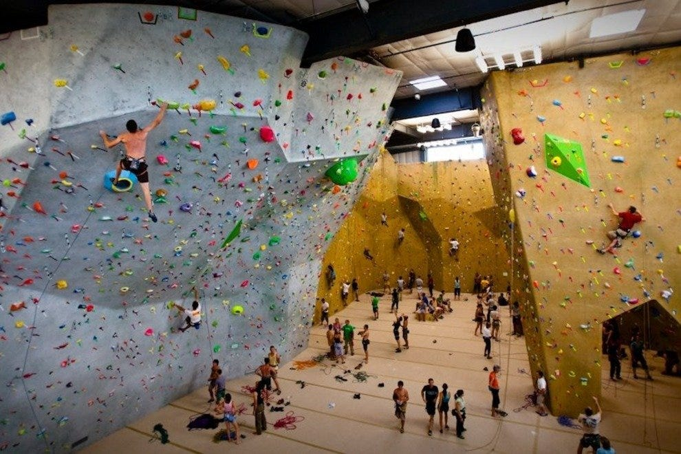 High places at Movement Climbing