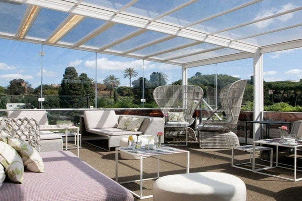 Best Rooftop Bars At Rome S Premier Hotels Hotels Article