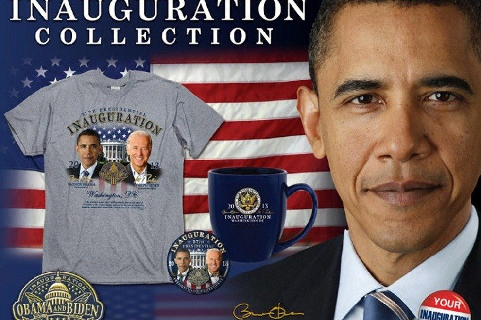 Presidential merchandise reigns supreme at America!
