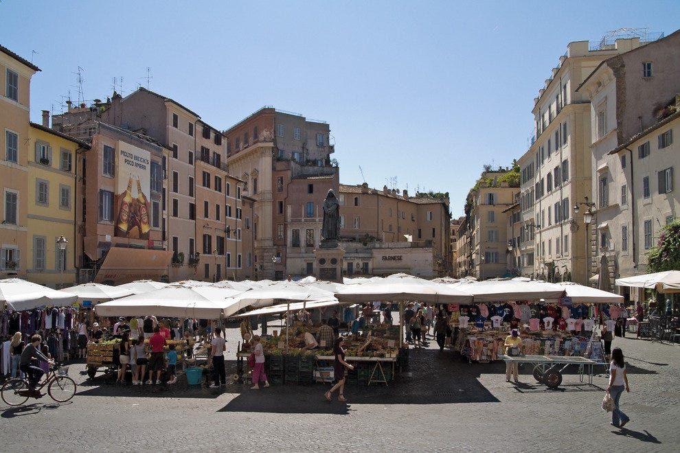 Campo dei Fiori and the Jewish Ghetto