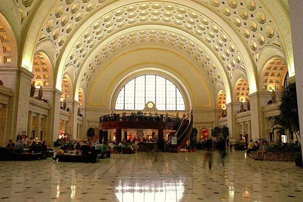 America! sits inside gorgeous Union Station