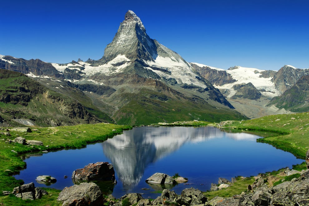 The Matterhorn is one of the world's most recognizable peaks