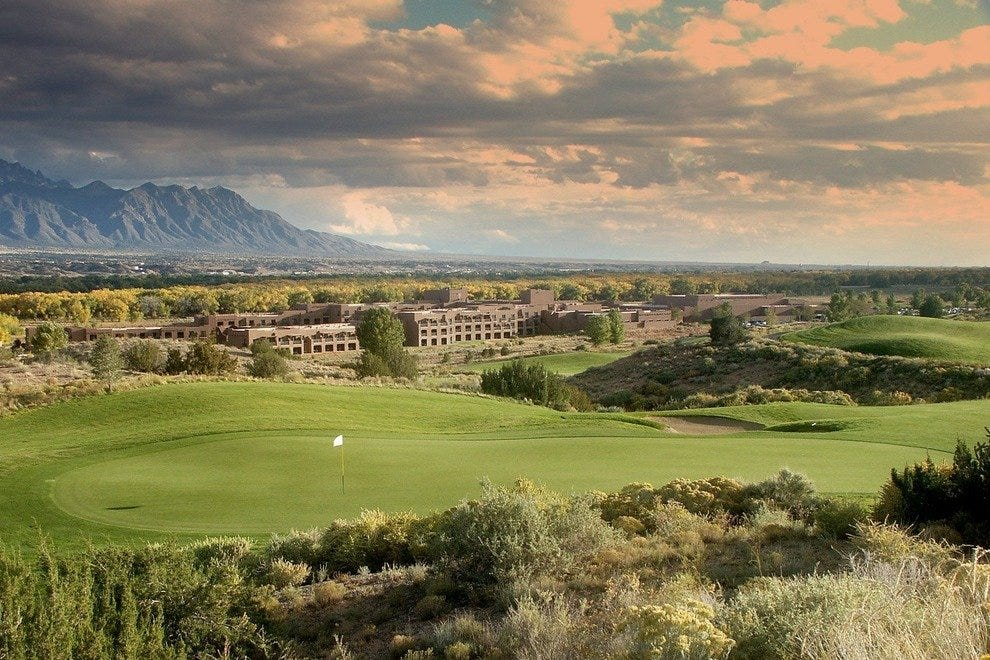 Twin Warriors course in Rio Rancho, NM