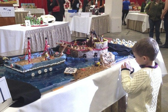 Christmas Festival and Gingerbread House Competition