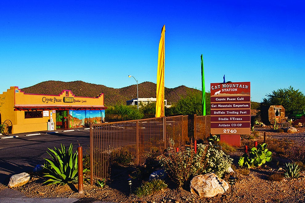 The new Buffalo Trading Post just opened its doors in Cat Mountain Shopping Center in Tucson